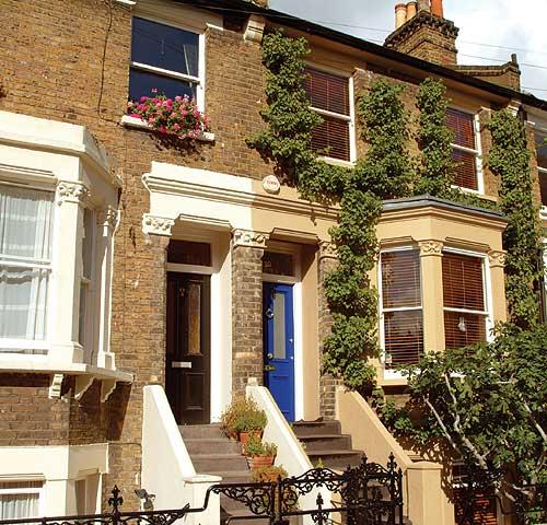 обычный лондонский дом