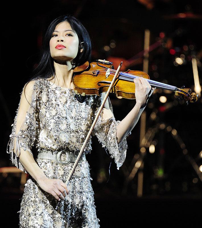 Концерт Ванессы Мэй в Москве 18 марта