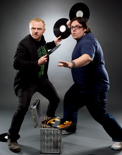 nick frost & simon pegg