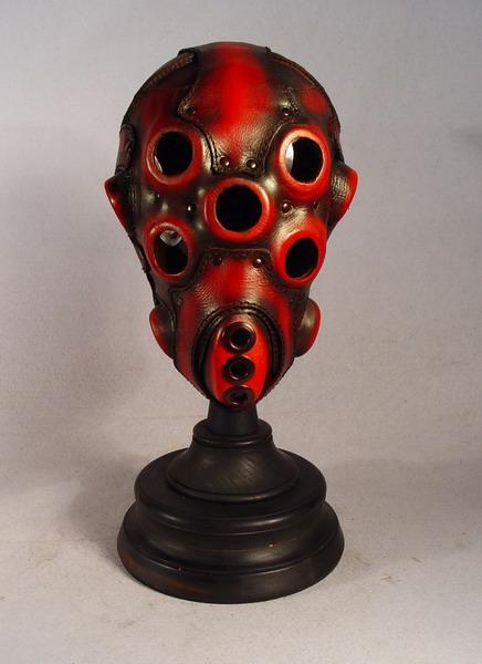 Spider eyed Custom leather mask. e2f26678cc