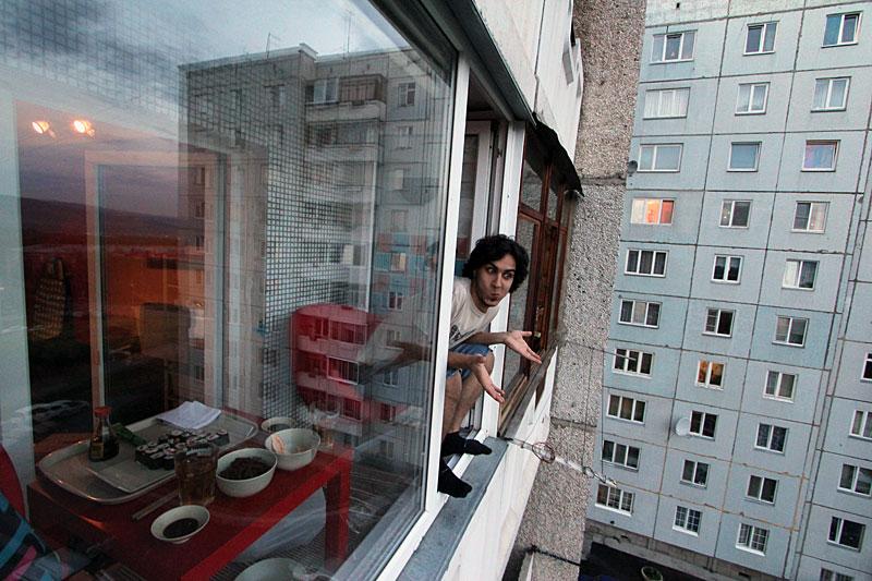 Как прокурор замодил свой балкон..