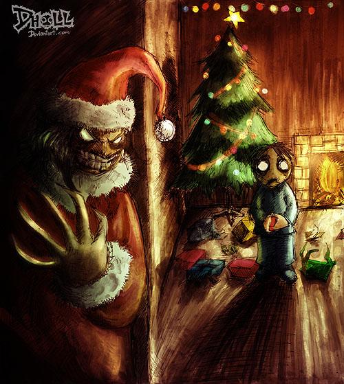Картинки страшные с новым годом
