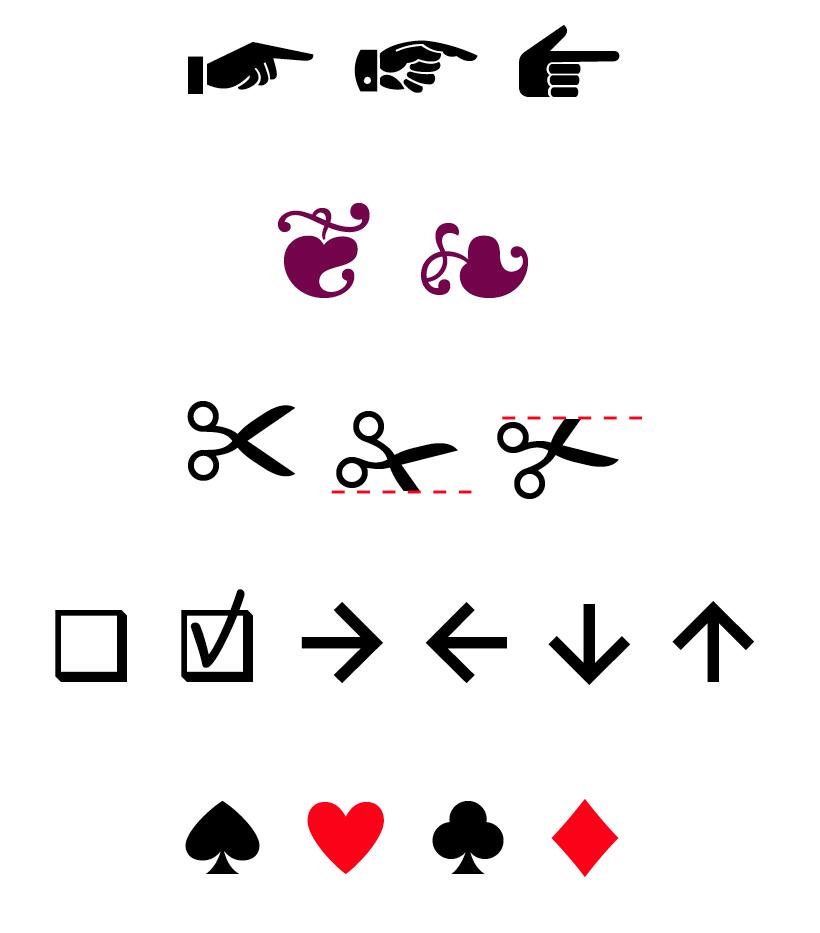значки стрелков: