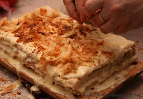 Рецепт лазаньи из слоеного теста пошагово