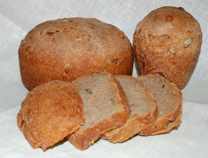 Хлеб с семечками на закваске