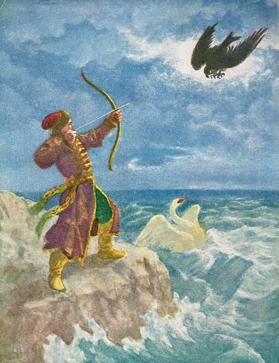 рисунки о царе салтане: