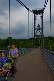 Житомир. Подвесной мост