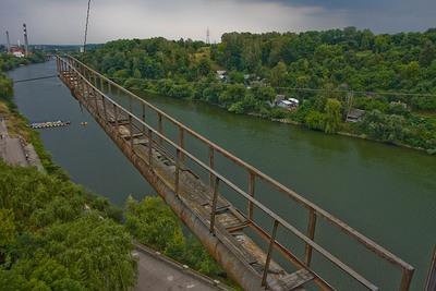 Житомир. Вид с подвесного моста