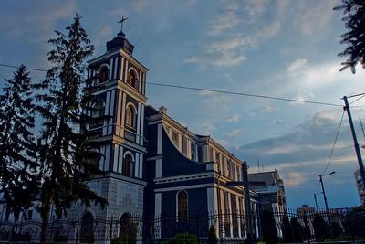 Житомир. Семинарийский костел