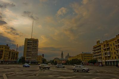 Житомир. Площадь Соборная
