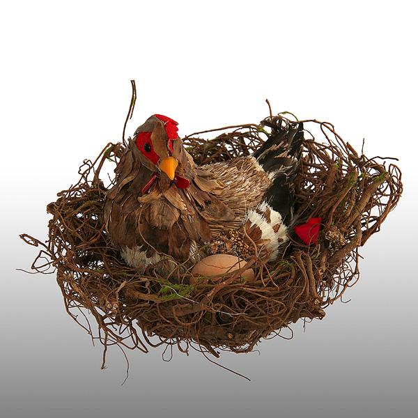 Как сделать гнездо птицы своими руками 12