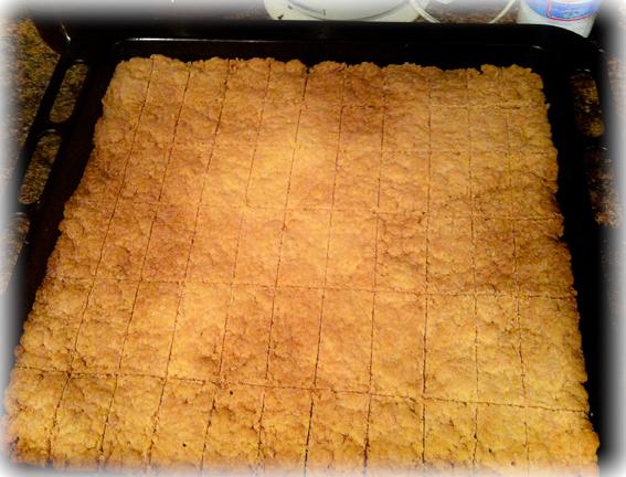 Английское песочное печенье (English Shortbread)