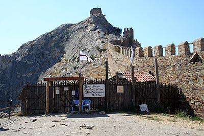 Крым. Судакская крепость
