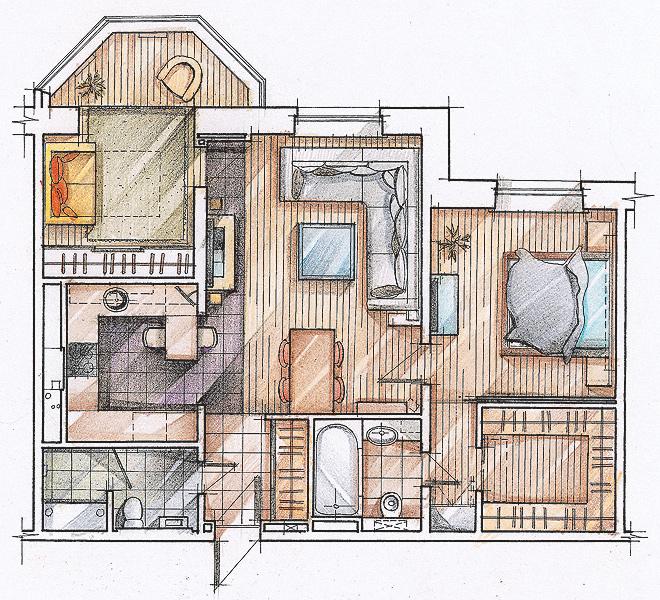 Дизайн проект квартиры в спб