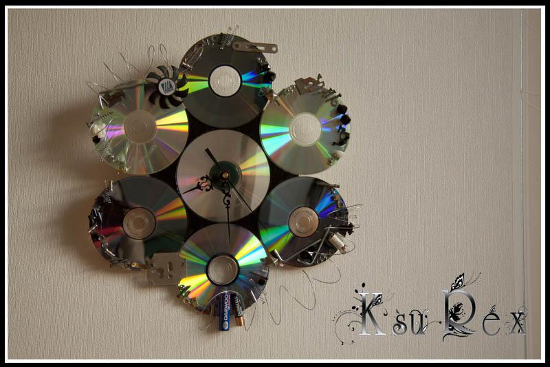 Фото поделок из дисков компьютерных