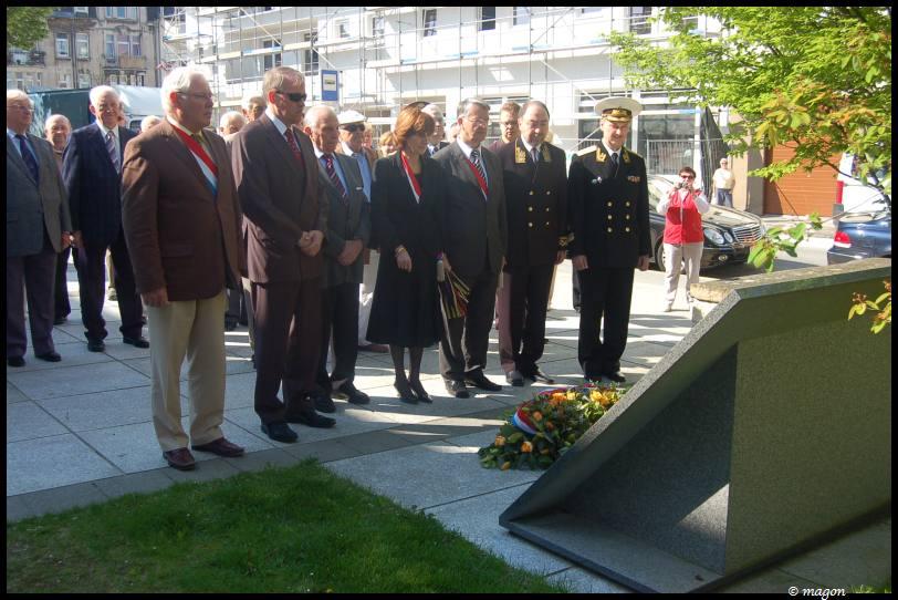 Возложение венков к могилам советских граждан в Люксембурге  by Magon