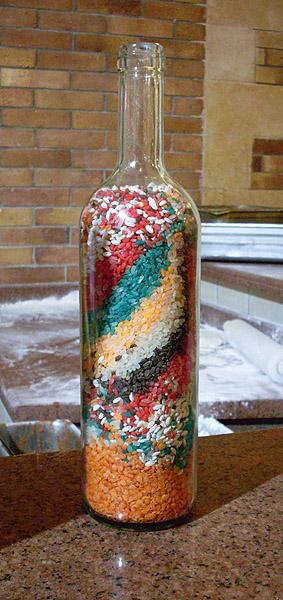 Бутылочки с крупой фото