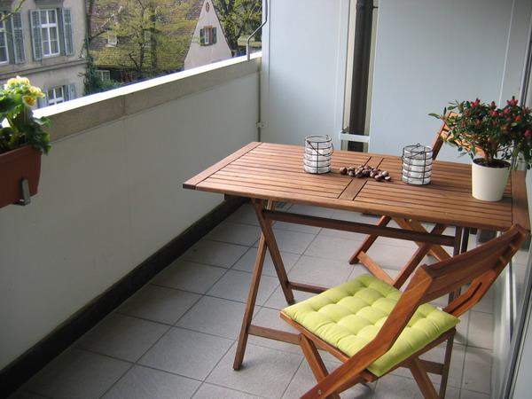 Складная мебель на балкон своими руками