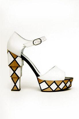 Баленсиага.  Шанель. модные обувки.