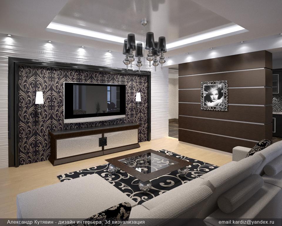 кухня потолок из гипсокартона фото
