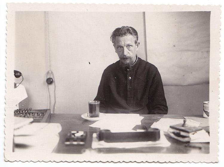 1951. Прадедушка Константин. На работе