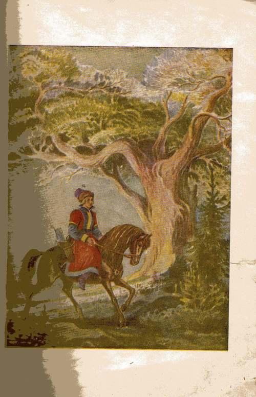 Вышивка иван царевич и серый волк 93