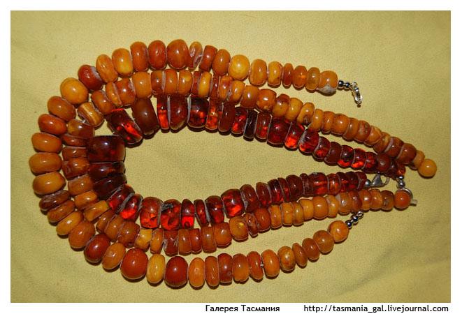 Выбор бусин для создания украшенй: янтарь или не янтарь, бусины, бусы