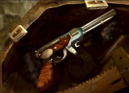 Pistol of mine{smock}