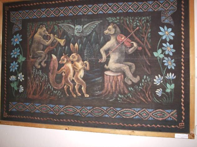 дыван (рисованный коврик)