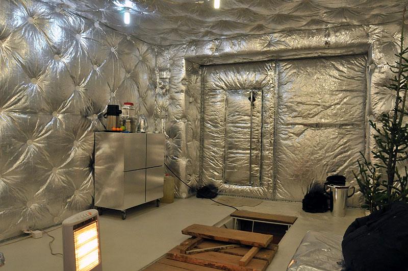Дизайн отделки гаража внутри