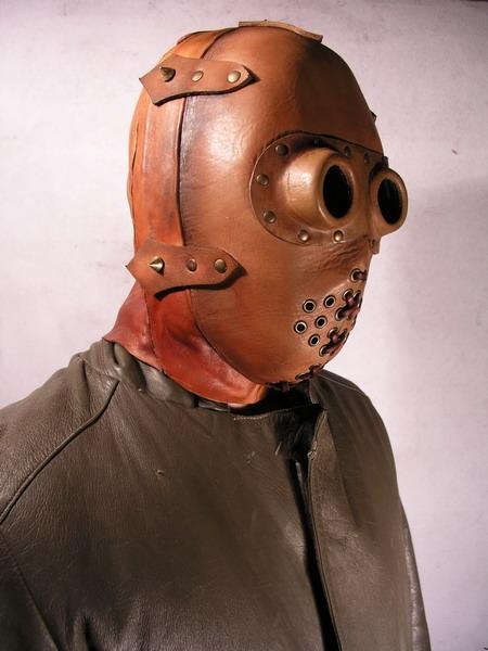 Как сделать маски из кожи