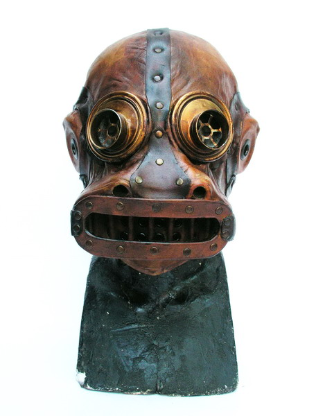 gas mask. bob_basset: Steampunk gas mask