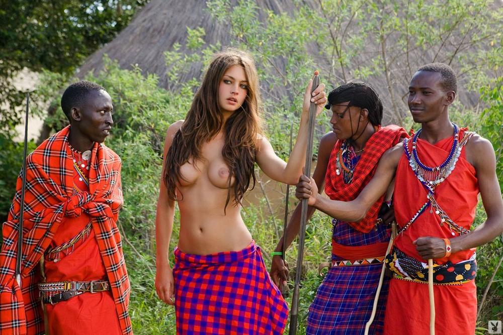 порнуха африканских туземцев фото