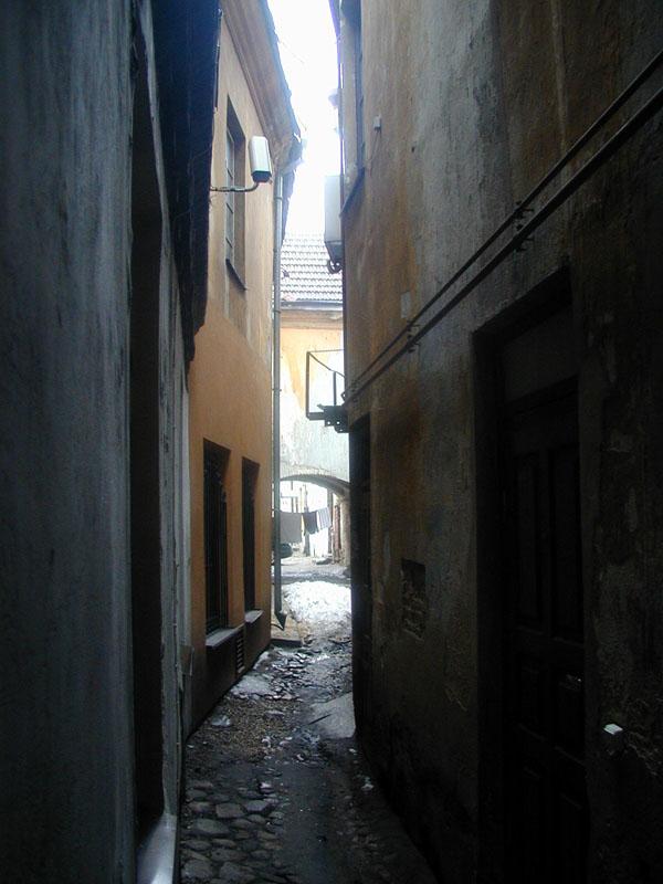 самая узкая улица