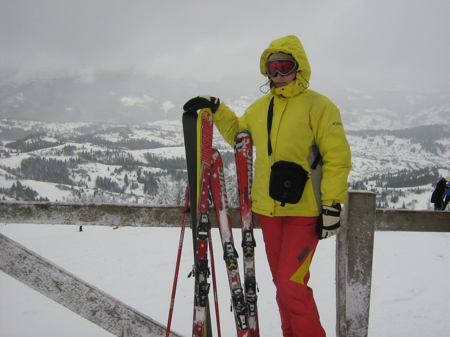 катание на горных лыжах на Тростяне