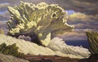 Испания. Мыс Креус. Восторг (скала-раковина). 2003, х., м., 80х120 см.
