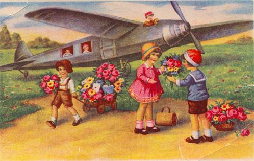 Гдр открытка, открытку марта