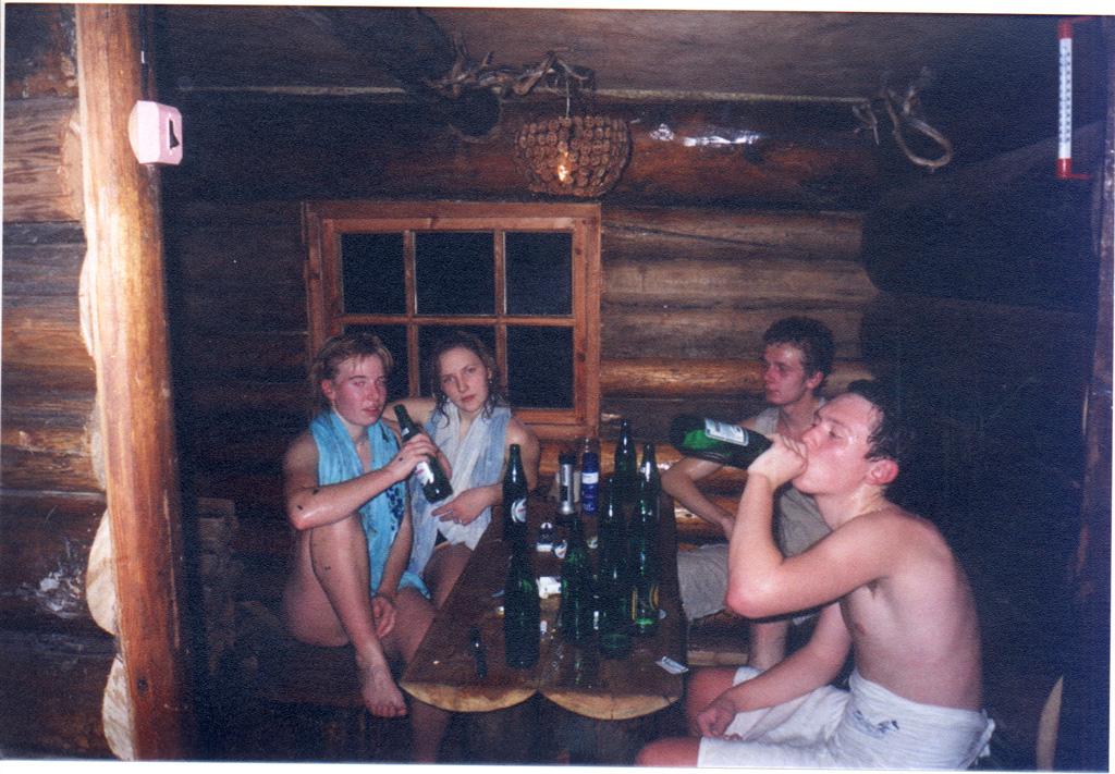 тоже ночные приключения в бане извращенка