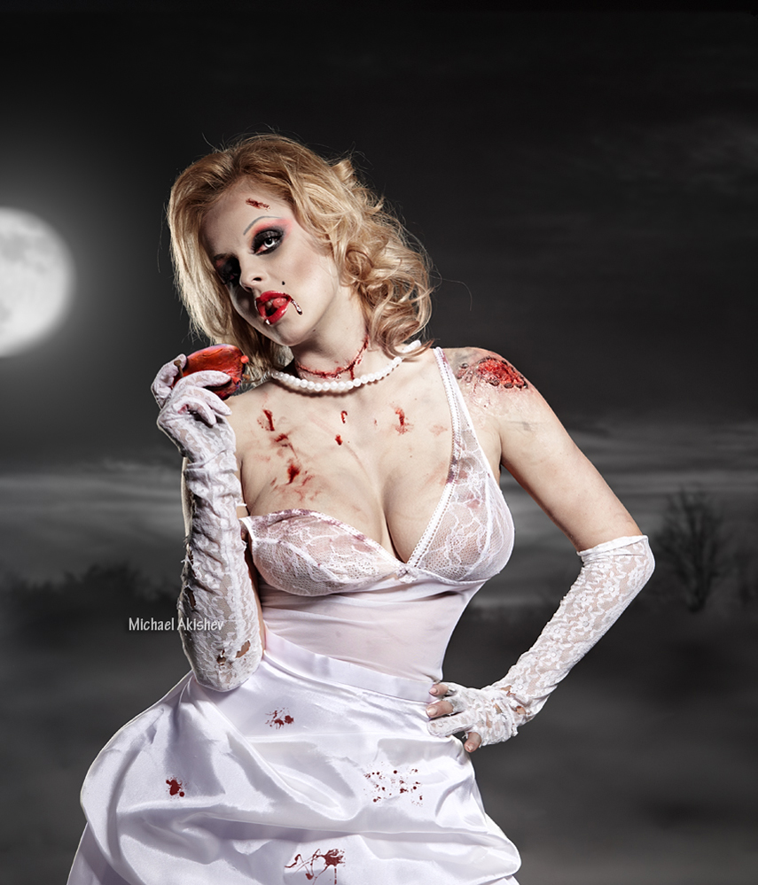 фотография невеста Зомби
