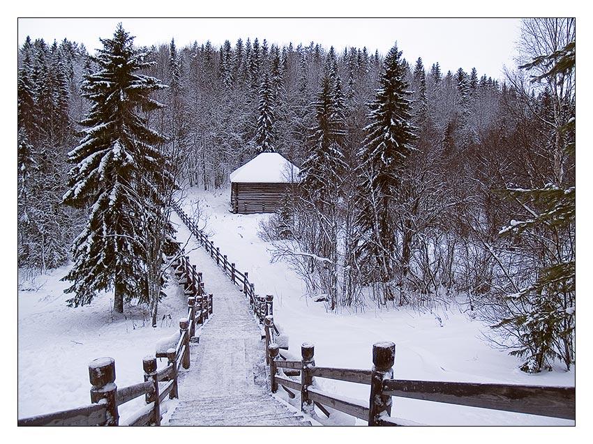 первый день зимы