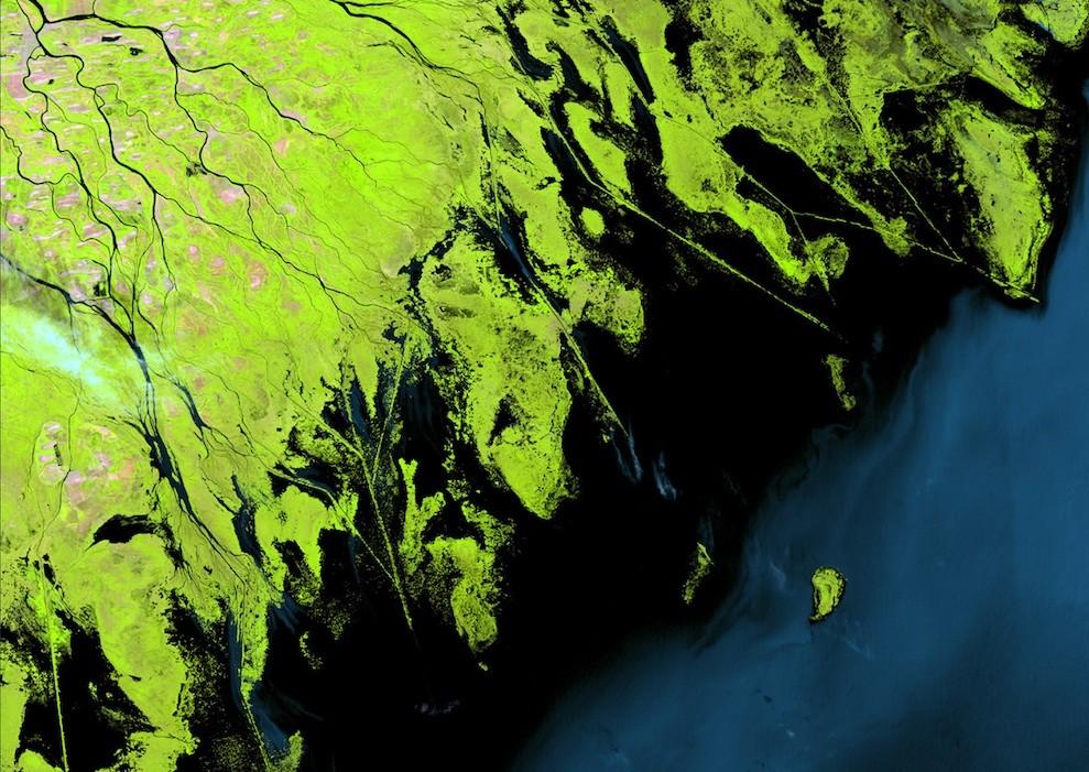 Фотографии Земли со спутника