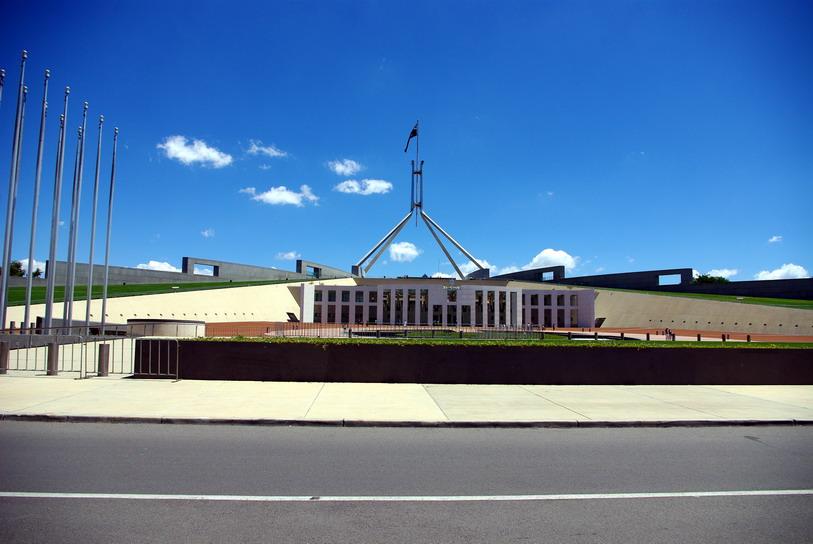 Канберра, парламент Австралии