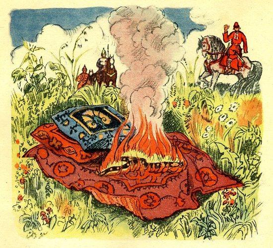 Картинки на сказку иванкрестьянский сын и чудоюдо