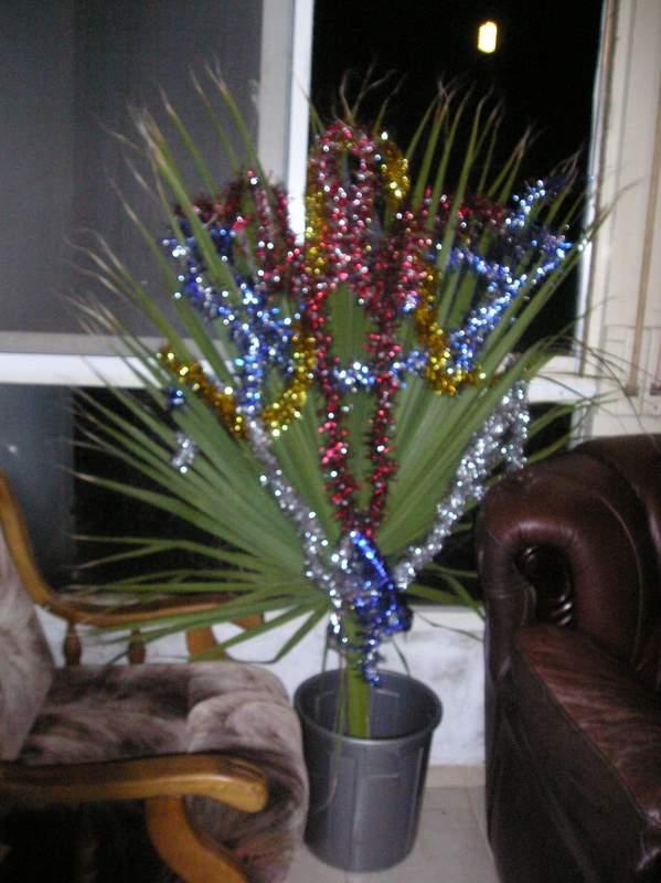 новогодняя пальма