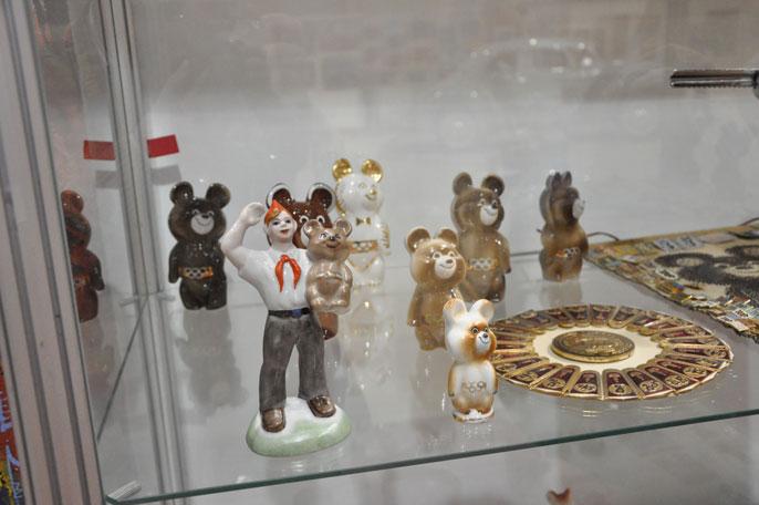 Коллекция олимпийских мишек 15 коп 1955