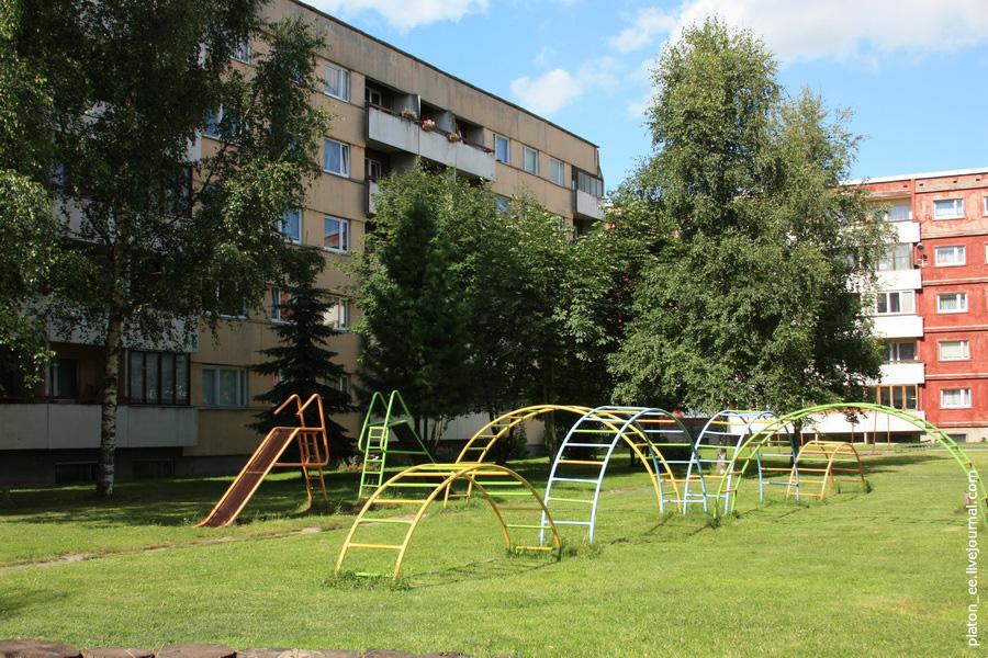 Спальный район в Тарту