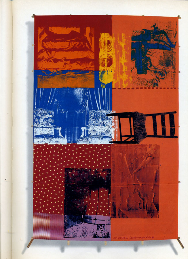 the rauschenberg art piece Robert rauschenberg limited editions and originals robert rauschenberg is one of over 100 world renowned artists available through herndon fine art click on artist's name to your left for a complete listing.