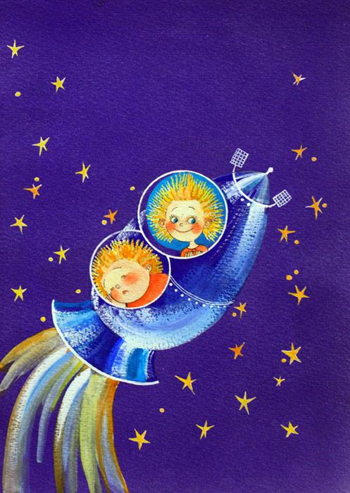 полет незнайки на луну картинки романтичное настроение подвигло